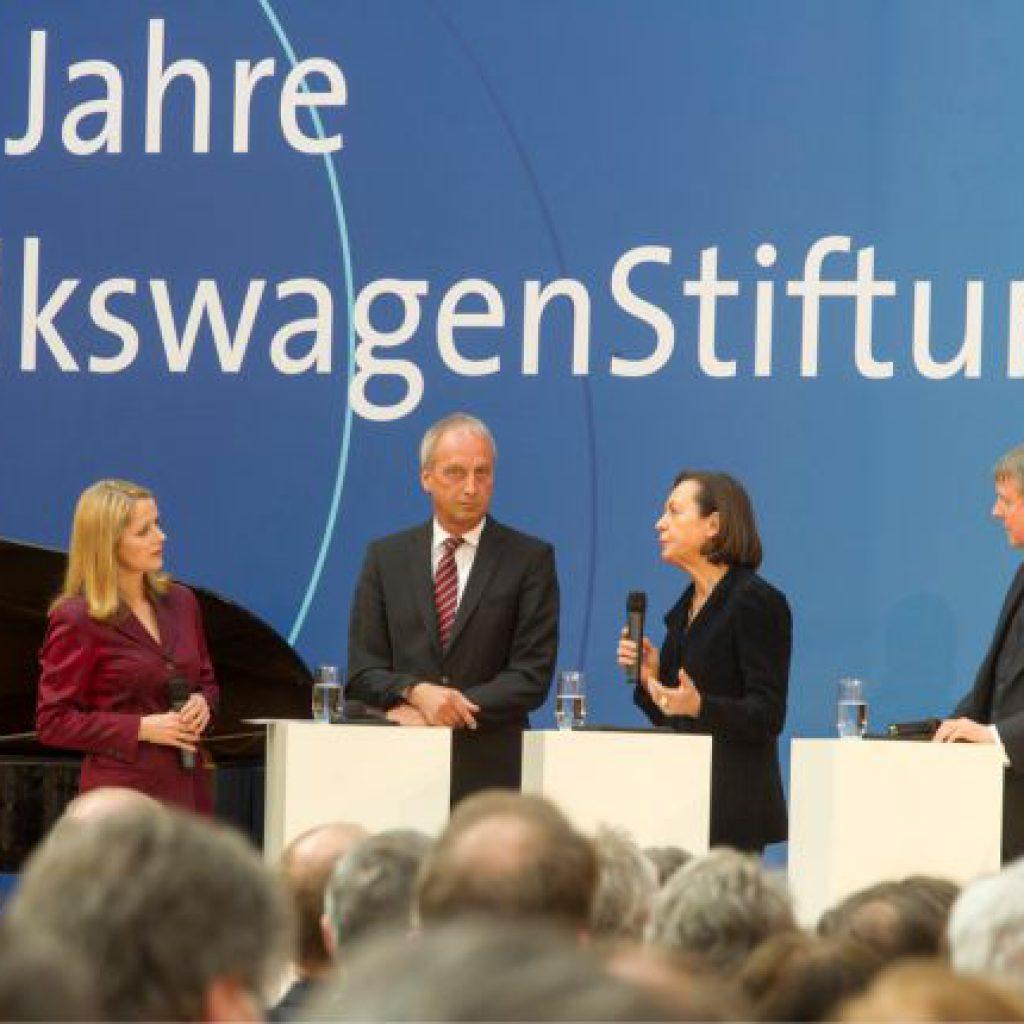 50 Jahre Volkswagen-Stiftung 2012