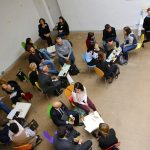Teilnehmende beim Praxisaustausch zum nachhaltigen Eventmanagement