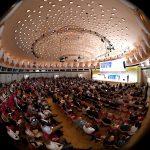 Blick in den Kuppelsaal des bcc 17. Jahreskonferenz des Rates für Nachhaltige Entwicklung (© RNE/ David Ausserhofer)