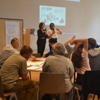 Moderation von Anja Ostermann und Silke Ramelow