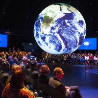 Innenansicht Climate Planet (© GIZ/ Kolja Matzke)