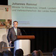 Minister Johannes Remmel 3. NRW Nachhaltigkeitstagung (© Carsten Andrae)