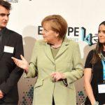 Bundeskanzlerin Angela Merkel History Campus (© bpb/ Jan Konitzki)