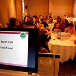 World Café NECE Conference 2015 (© bpb/ M. Pappous)