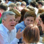 Bundespräsident Joachim Gauck Demokratiefest (© Körber-Stiftung/ David Ausserhofer)