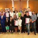 bap-Preis Politische Bildung 2017 alle Preisträger (© Dirk Enters)