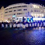 Auftakt KlimaTour Bonn Fiji Police Band (© Uniting for Climate Action/ Max Thabsio Edkins)