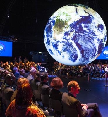 """Sonderschau """"Climate Planet: Klima und Entwicklung"""" 2017"""