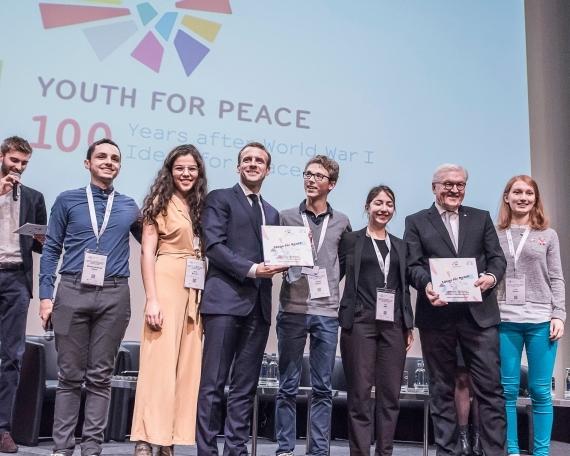 Youth for Peace – 100 Jahre Ende Erster Weltkrieg, 100 Ideen für den Frieden